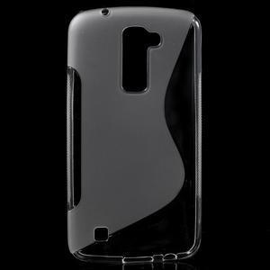 S-line gélový obal pre mobil LG K10 - transparentný - 1