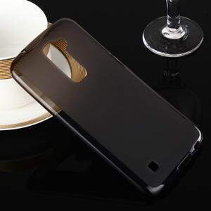 Stter matný gelový obal na mobil LG K10 - černý - 1