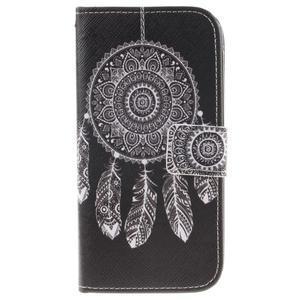 Peňaženkové puzdro pre mobil LG K10 - lapač snov - 1