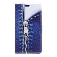 Style peňaženkové puzdro pre LG K4 - jeans - 1/5