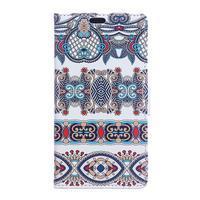 Style peňaženkové puzdro pre LG K4 - pattern - 1/5