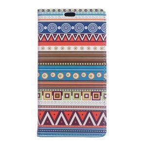 Style peňaženkové puzdro pre LG K4 - tribal - 1