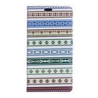 Style peňaženkové puzdro pre LG K4 - ethnic - 1/5