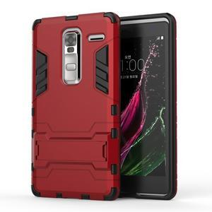 Outdoor odolný kryt pre mobil LG Zero - červený - 1