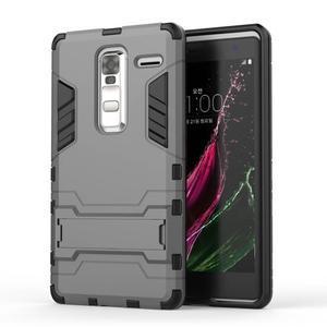 Outdoor odolný kryt pre mobil LG Zero - sivý - 1