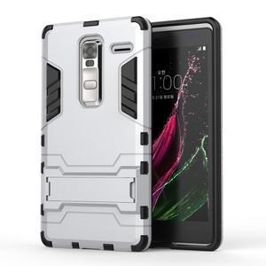 Outdoor odolný kryt pre mobil LG Zero - strieborny - 1
