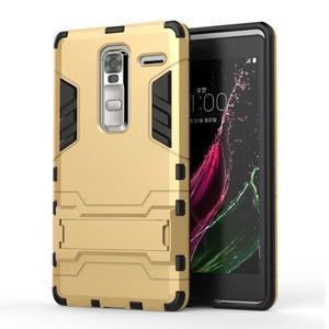 Outdoor odolný kryt na mobil LG Zero - zlatý - 1