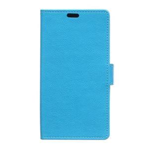 Wallet puzdro pre mobil Lenovo A1000 - modré - 1