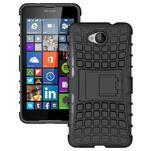 Outdoor odolný obal pre mobil Microsoft Lumia 650 - čierný - 1/5