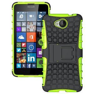 Outdoor odolný obal na mobil Microsoft Lumia 650 - zelený - 1