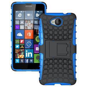 Outdoor odolný obal pre mobil Microsoft Lumia 650 - modrý - 1