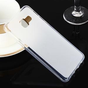 Matný gélový obal pre Samsung Galaxy A3 (2016) - biely - 1