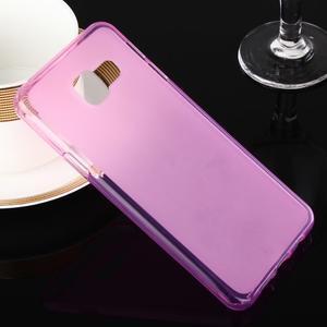 Matný gélový obal pre Samsung Galaxy A3 (2016) - růžový - 1