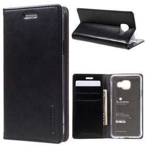 Mercury peňaženkové puzdro pre Samsung Galaxy A3 (2016) - čierné - 1