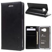 Mercury peňaženkové puzdro pre Samsung Galaxy A3 (2016) - čierné - 1/7