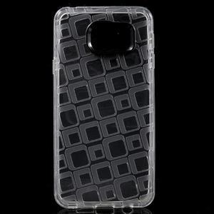 Square gélový obal na mobil Samsung Galaxy A3 (2016) - transparentný - 1