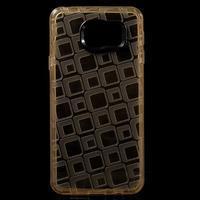 Square gélový obal pre mobil Samsung Galaxy A3 (2016) - zlatý - 1/6