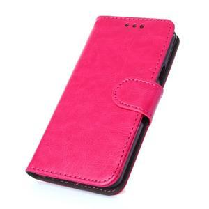 Wallet puzdro pre mobil Samsung Galaxy A3 (2016) - rose - 1