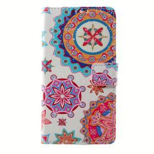 Peňaženkové puzdro na mobil Lenovo A536 - mandala - 1
