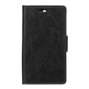 Fold peňaženkové puzdro na Microsofst Lumia 650 - čierné - 1