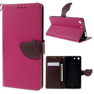 Blade peněženkové pouzdro na Sony Xperia M5 - rose - 1