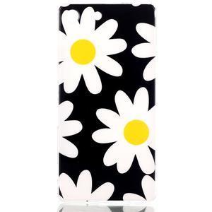 Style gélový obal pre Sony Xperia M5 - daisy - 1