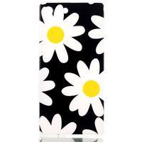 Style gélový obal pre Sony Xperia M5 - daisy - 1/3