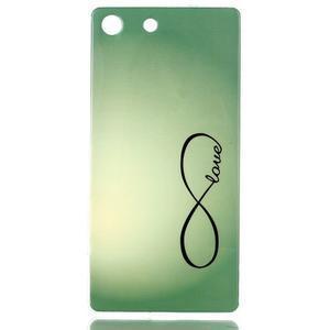 Style gélový obal pre Sony Xperia M5 - love - 1