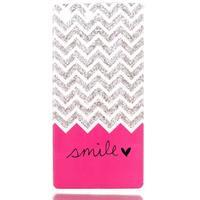 Style gélový obal pre Sony Xperia M5 - smile - 1/3