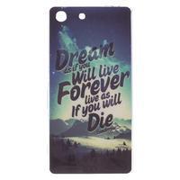 Gélový obal pre mobil Sony Xperia M5 - dream - 1/3