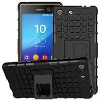 Outdoor odolný kryt pre mobil Sony Xperia M5 - čierny - 1/2