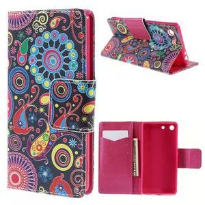 Crafty Peňaženkové puzdro pre Sony Xperia M5 - magic - 1