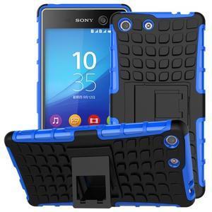 Outdoor odolný kryt pre mobil Sony Xperia M5 - modrý - 1