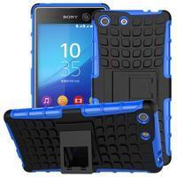 Outdoor odolný kryt pre mobil Sony Xperia M5 - modrý - 1/2