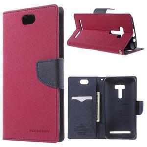 Mr. Goos peňaženkové puzdro pre Asus Zenfone Selfie ZD551KL - rose - 1