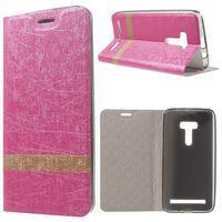 Lines puzdro na mobil Asus Zenfone Selfie ZD551KL - rose - 1/7