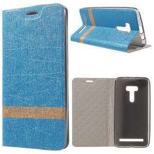 Lines puzdro na mobil Asus Zenfone Selfie ZD551KL - svetlo modré - 1