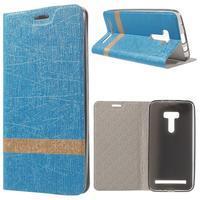 Lines puzdro na mobil Asus Zenfone Selfie ZD551KL - svetlo modré - 1/7
