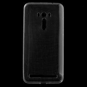Ultratenký slim obal 0.6 mm na Asus Zenfone Selfie - transparentný - 1