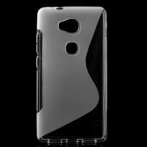 S-line gélový obal pre mobil Honor 5X - šedý - 1