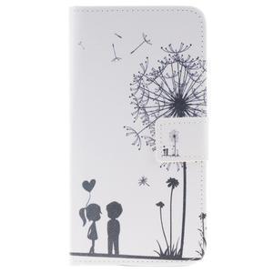 Peňaženkové puzdro pro mobil Honor 5X - láska - 1