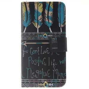 Peňaženkové puzdro pro mobil Honor 5X - quote - 1