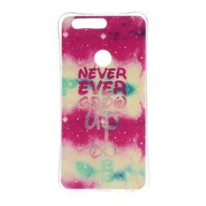 Emotive gelový obal na mobil Honor 8 - never ever - 1