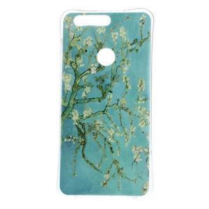 Emotive gelový obal na mobil Honor 8 - kvetoucí strom - 1
