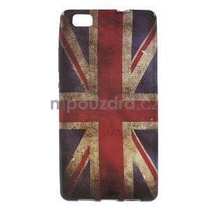 Gelový obal Style na Huawei Ascend P8 Lite - UK vlajka - 1