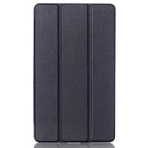 Trifold polohovatelné puzdro na tablet Huawei MediaPad M2 8.0 - čierné - 1