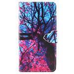 Emotive pouzdro na mobil Huawei P8 Lite - malovaný strom - 1/6