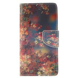 Leathy PU kožené pouzdro na Huawei P8 Lite - podzimní zátiší - 1