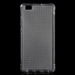 Diamonds gelový obal na Huawei P8 Lite - transparentní - 1