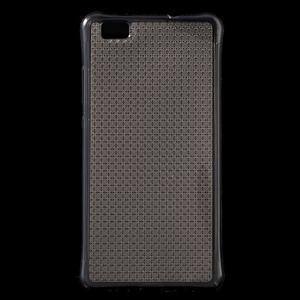 Diamonds gelový obal na Huawei P8 Lite - šedý - 1